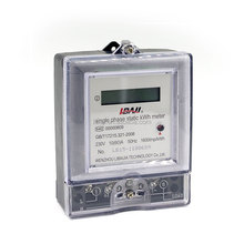 Single Phase Electric Kwh Meter with CE certificate