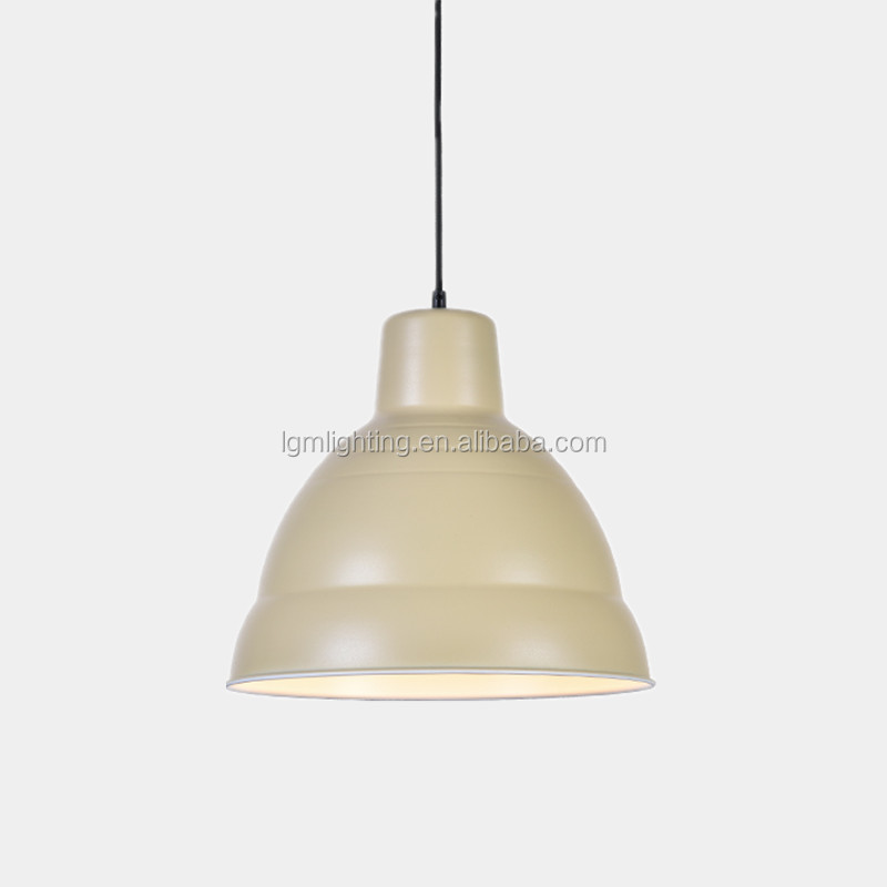 Light green oil painting lamp pendant drop with fabric cord showroom pendant lighting/pendant lamp/ Lighitng pendant