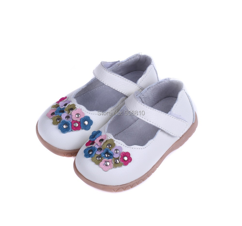 Little Girl White Mary Jane Shoes