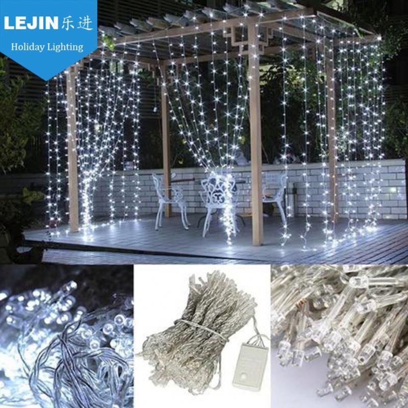 led cortina cascada de luz al aire libre decoracin de navidad