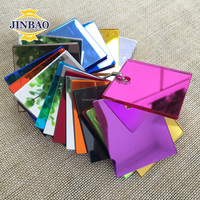 JINBAO 2mm 1.5mm good quality 3mm silver double sided acrylic mirror