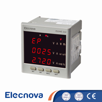 Elecnova PD194E-3S4 83*83mm led display three phase four wire digital voltmeter ammeter multimeter