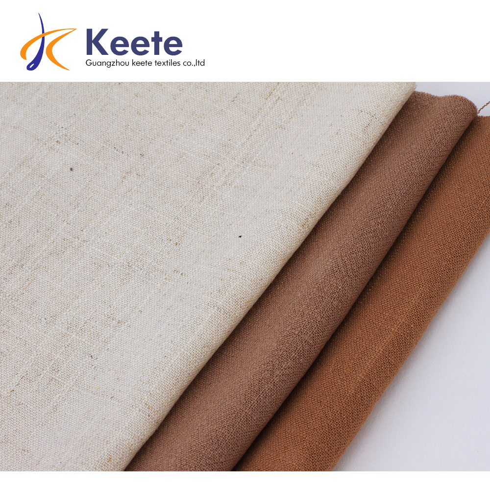 55%linen 45%cotton soft linen fabric suitable for garment and upholstery,  View linen cotton fabric, Keete Product Details from Guangzhou Keete  Textile