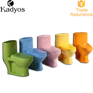 Modern colorful children sanitary wares cheap ceramic kid toilet for kindergarten