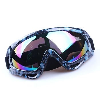 Polarized coolest motocross goggles with UV400 protection