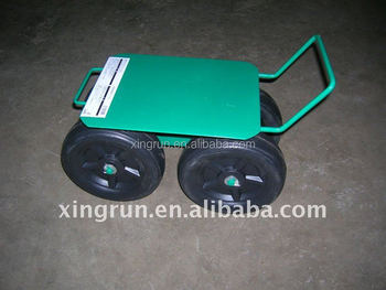 Attractive Rolling Garden Work Seat Cart,Garden Scooter,Tractor Style Work Seat