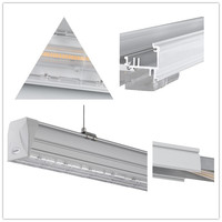 65w Led Linear Trunking System With Tracking Spotlight - Buy ...