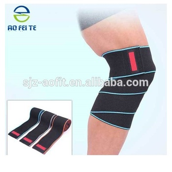 Sports Elastic Knee Ankle Elbow Wrist Support Wraps Compression
