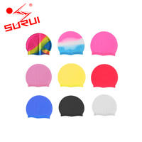 Adult Swimming Hat Durable Elastic Custom Silicone Swim Caps