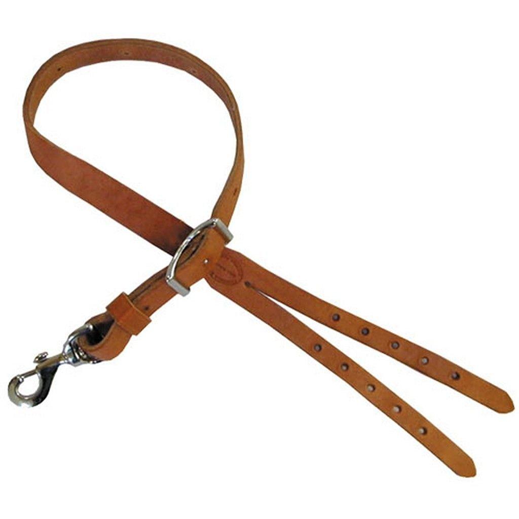 Leather Crupper Strap - Single Snap Attachment