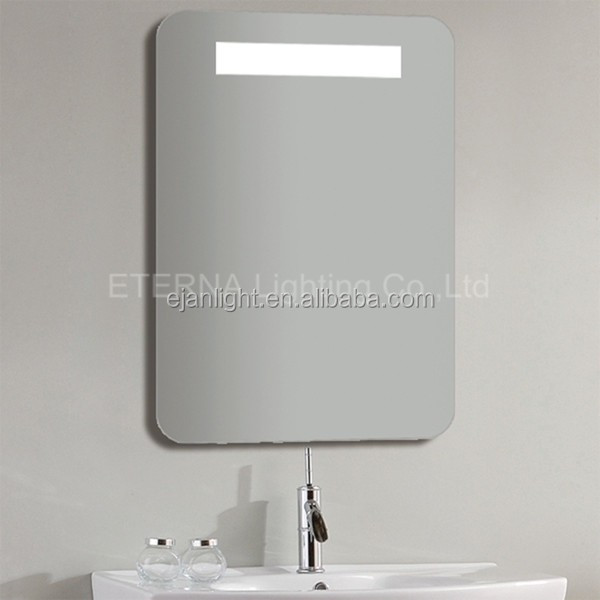 for hotel project bathroom ip44 defog mirror lighted
