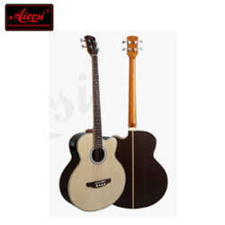 Aiersi Brand Rosewood Body Electric Acoustic Bass Guitar Model BG01SRCE
