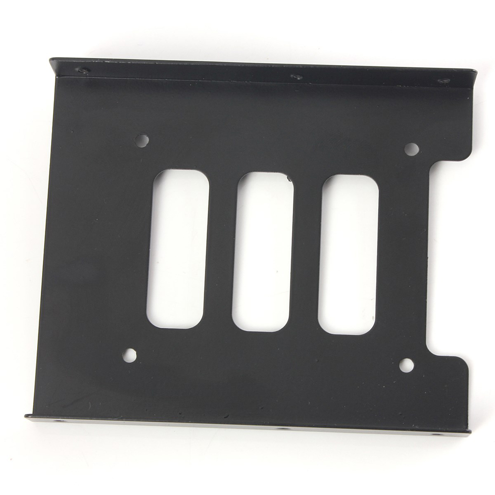 New Universal Metal 2.5  To 3.5 Inch  SATA to IDE  SSD HDD  Bracket  For Desktop PC