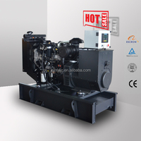 silent type 64kw 80kva diesel generator powered by 1104D-E44TG1