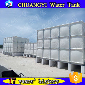 2018 New Products FRP GRP Panel Sectional Water, FRP Rain Water Tanks water collecting tanks, fiberglass water storage tanks