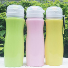 2017 new products ,as seen on TV products ,the newest silicone collapsible water bottle arriving