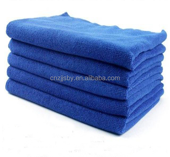 Top Quality Plain Microfiber Cleaning Cloth For Kitchen