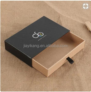Cardboard Box Pull-out Jewelry Box Slid Hard Drawer Box