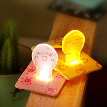 best battery light plastic card lamp creative energy saving wholesale card lamp