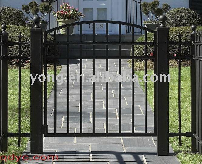 Ontdek de fabrikant ijzeren prieel poort van hoge kwaliteit voor