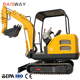 China Manufacturer 2200kg Mini Excavator For Farm