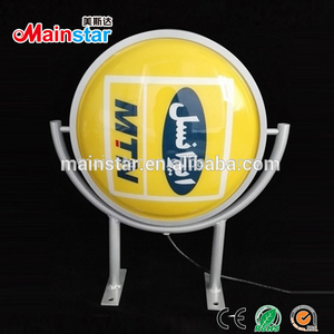 double side outdoor vacuum forming light box rotating led sign board