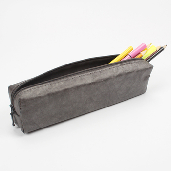 Zippered Pen Pencil Pouch Paper Custom Pencil Bag Stationary Case