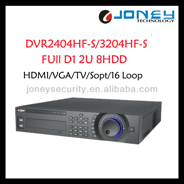 Dahua HDMI/VGA/TV/Spot H.264 32CH Full D1 DVR
