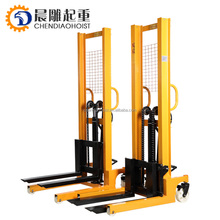 material handing equipement 2T 1.6M hand manual lifting fork lift