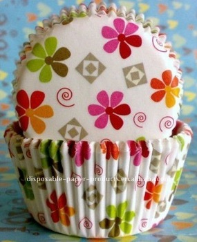 Wholesale Colorful Daisy Cupcake Liners Cases Cake Decorating