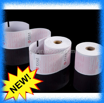 1-ply bond 57mm ATM bank ontvangst thermische papierrollen