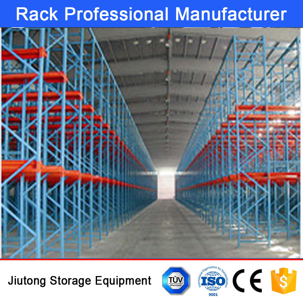Warehouse Storage Equipment of Industrial Parts, Selective Pallet Racks