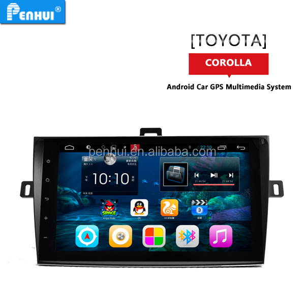 Android 6.0 9inch car gps entertainment navi for <strong>toyota</strong> <strong>corolla</strong> 2007-2013 SUPOORT 3g wifi rds mirror link free map