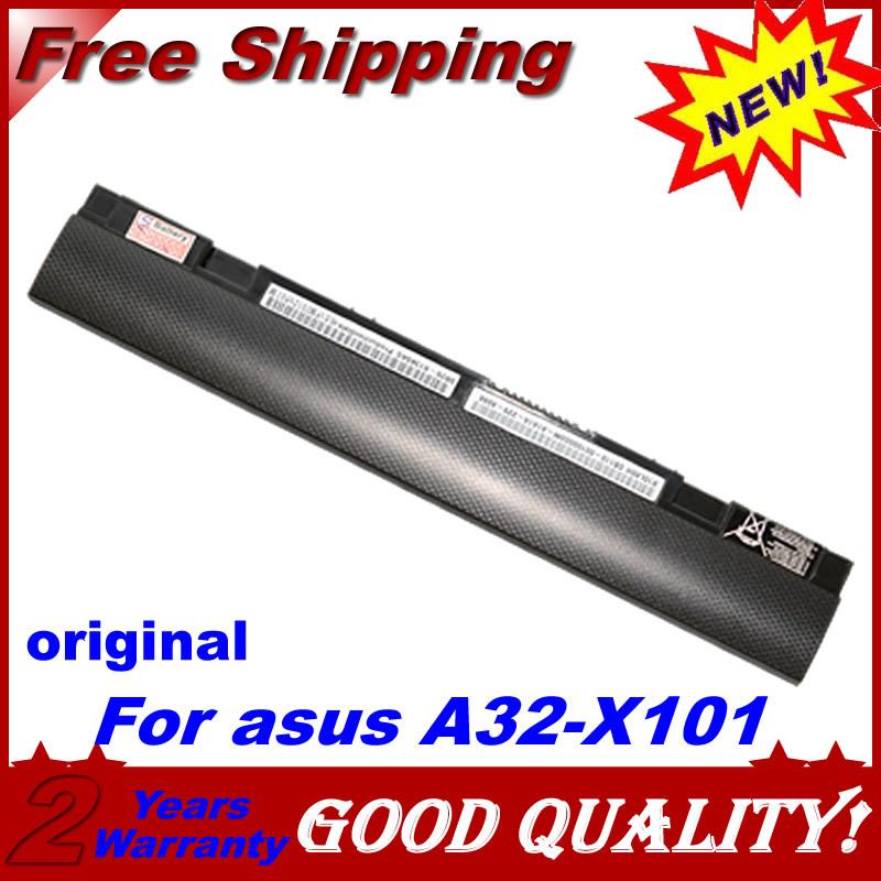 Оригинальные подлинная аккумулятор для ноутбука EEE PC X101 X101C X101CH X101H для asus A31-X101 A32-X101 2200 мАч бесплатная доставка