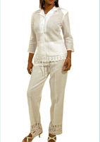 Pink Color For Elegant Ladies Summer Pant Suits Latest Design ...