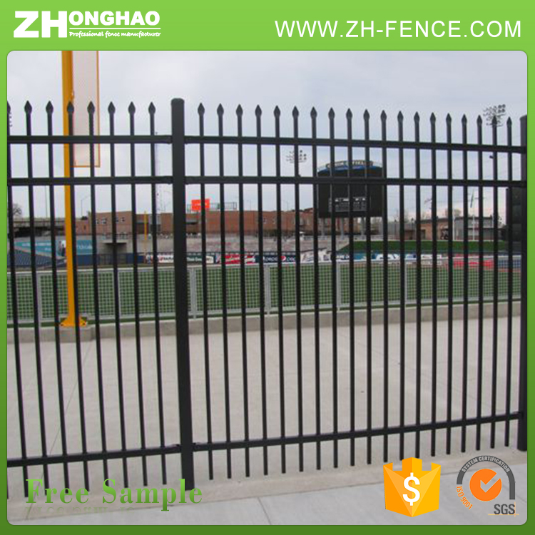 Iron Gate And Steel Fence Design,Zinc Steel Fence,Wrought Iron Fence