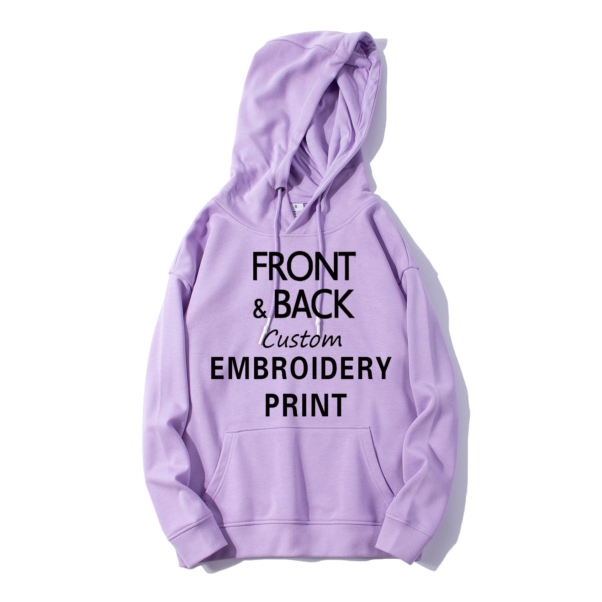 High Quality Custom Terry <strong>Hoodie</strong> Men Print Embroidery Logo Oversized Manufacturers