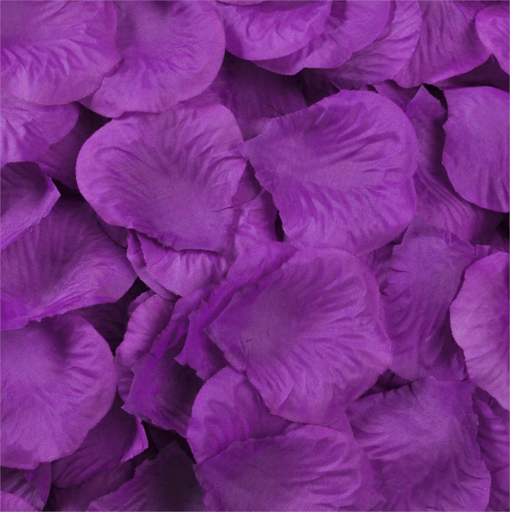 1200 soie de mariage p tales de fleurs de mari e en direct couleurs violet livraison gratuite. Black Bedroom Furniture Sets. Home Design Ideas