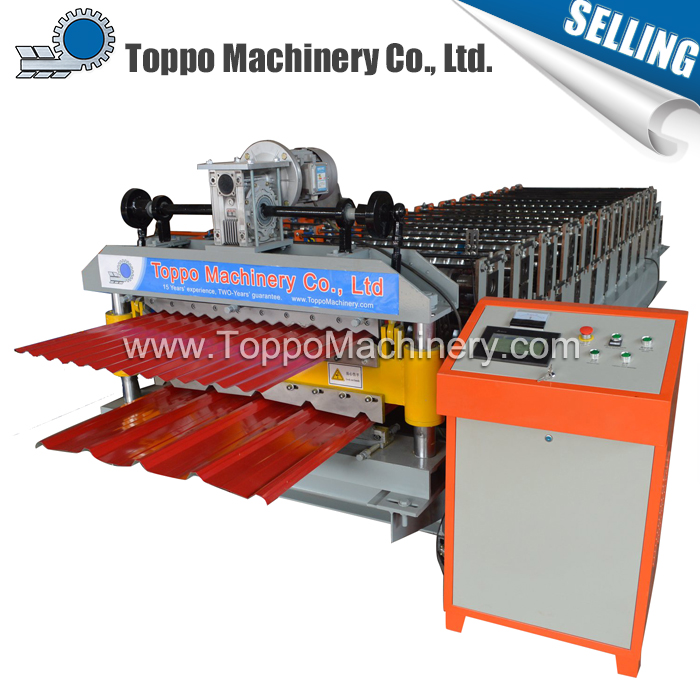 Hebei Sale New Metal Product Double Layer Roof Sheet Forming Machine