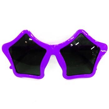 26921e4b1d Custom Cheap Fashion Funny Purple Party Star Shape Sunglasses - Buy ...