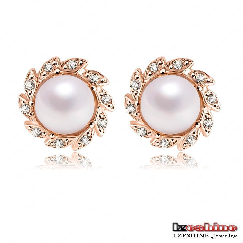 round moja white small red earrings product brown joy brn wht