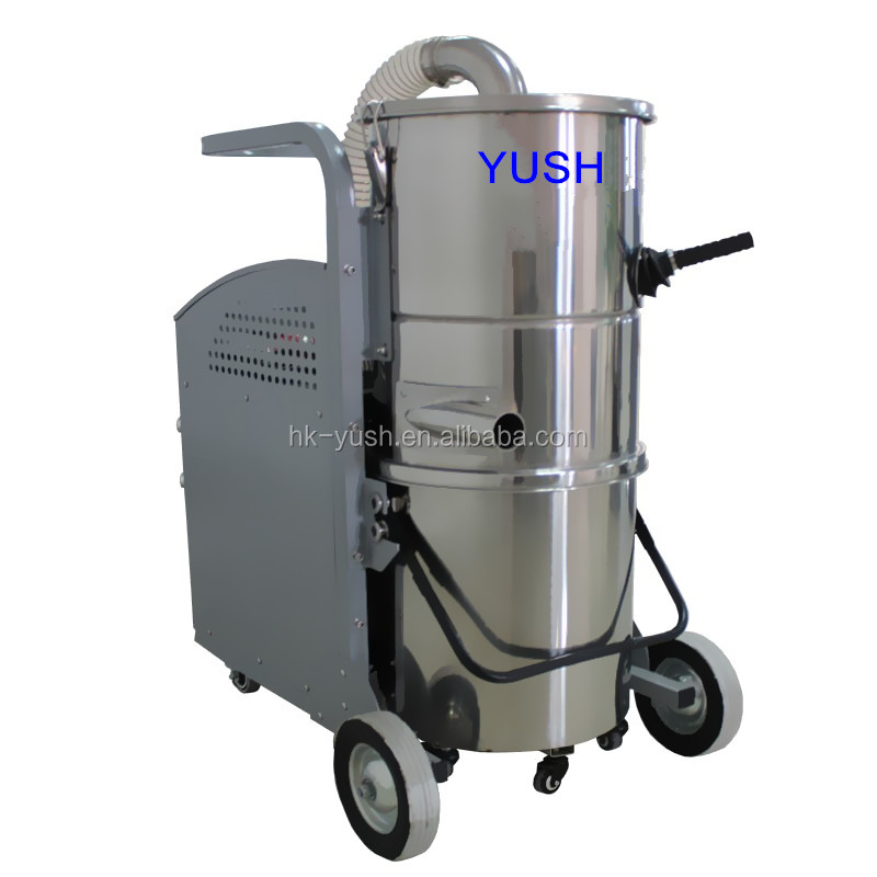 hot sale chemical plant vacuum cleaner . CE YSVC-3600 nail dust vacuum with 5.5KW
