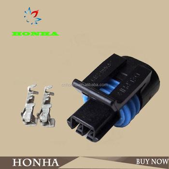 12162195 12162193 pa66 delphi gm 2 pin female sensor wiring harness rh alibaba com