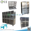 2017 top quality 304 stainless steel cat dog veterinary animal pet cage manufacture