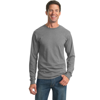 Custom male blank long sleeve t shirts for men