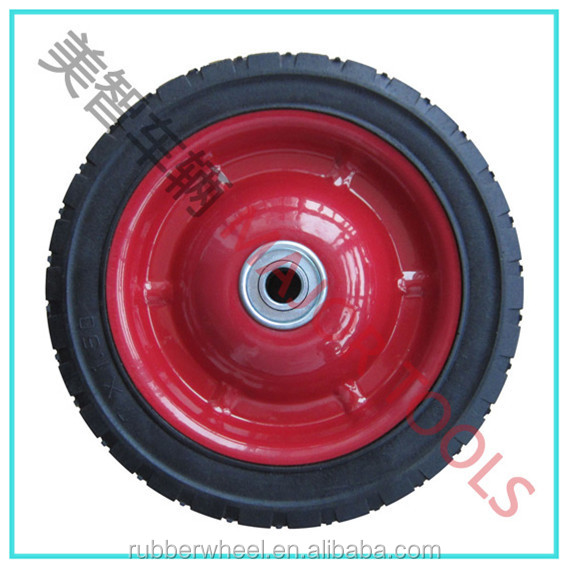 200x43mm mountain board tire semi-pneumatic wheels 8x1.75 for lawnmowers