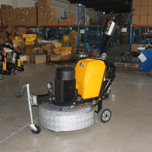 underground garage floor surface refinishing grinding machine