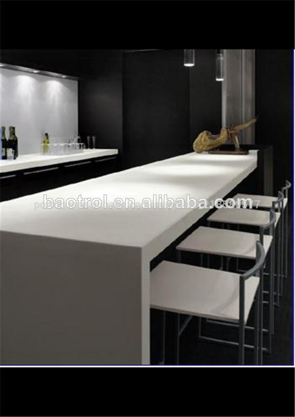 mais populares corian mesa de jantar topo cozinha casa de jantar mesa alta superior mesas de. Black Bedroom Furniture Sets. Home Design Ideas
