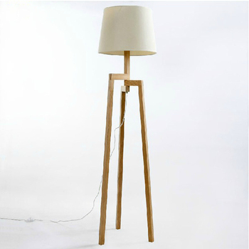 Modern Wooden Living Room Floor Standing Lamp - Buy ...