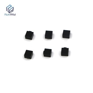 Auto Spare Parts RFID UHF metal ceramic inserts Tag adhesive small rectangle metal tag